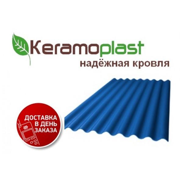 Лист Керамопласт 4,5 мм (изумруд, синий)